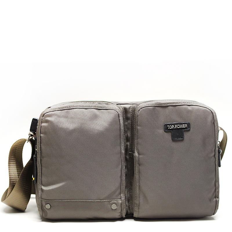 Сумка мужская Top Power, цвет: хаки. 60206020 TP khakiМужская сумка Top Power сумка закрывается на застежку-молнию. Вшитый регулируемый плечевой ремень. Удобные и стильные сумки Top Power призваны подчеркнуть ваш неповторимый стиль.