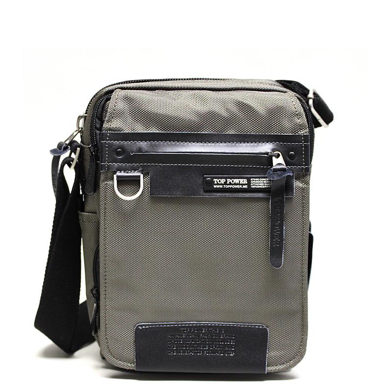 Сумка мужская Top Power, цвет: хаки, черный. 638638 TP khakiМужская сумка Top Power сумка закрывается на застежку-молнию. Вшитый регулируемый плечевой ремень. Удобные и стильные сумки Top Power призваны подчеркнуть ваш неповторимый стиль.