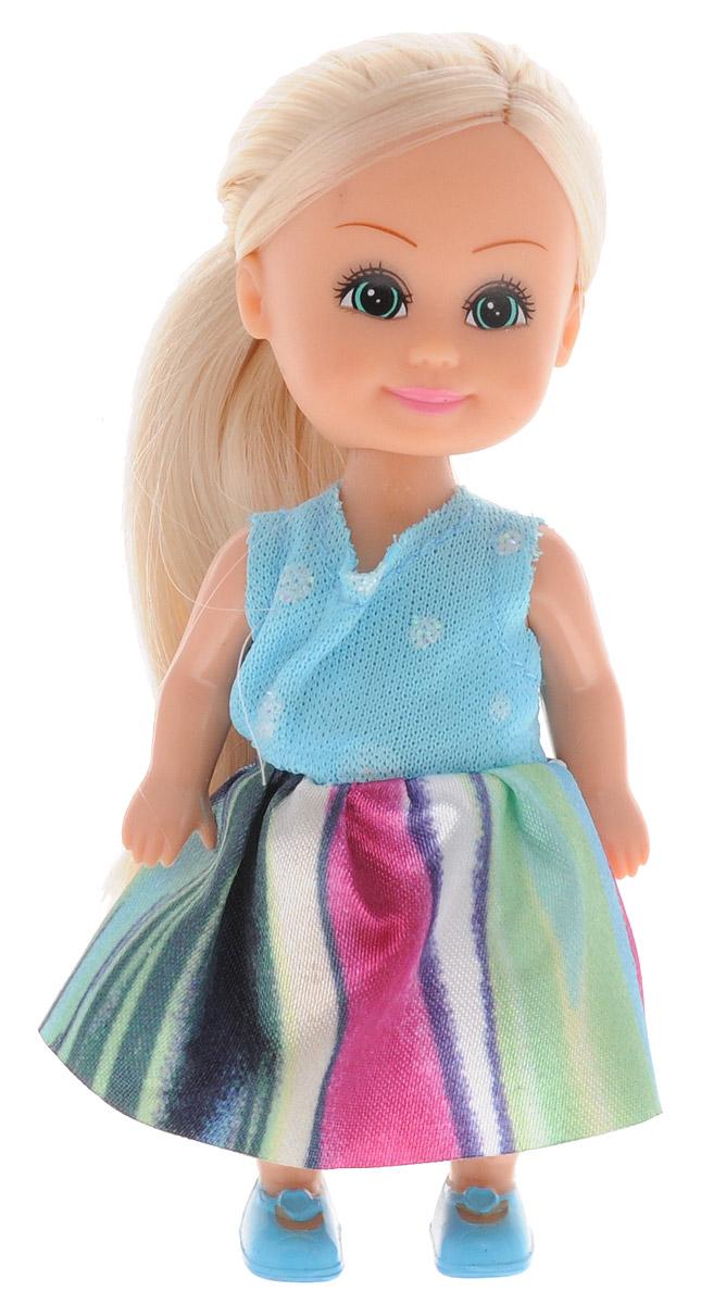 Funville Мини-кукла Sparkle Girlz цвет наряда голубой розовый зеленый funville кукла flutter wings fairy цвет платья голубой