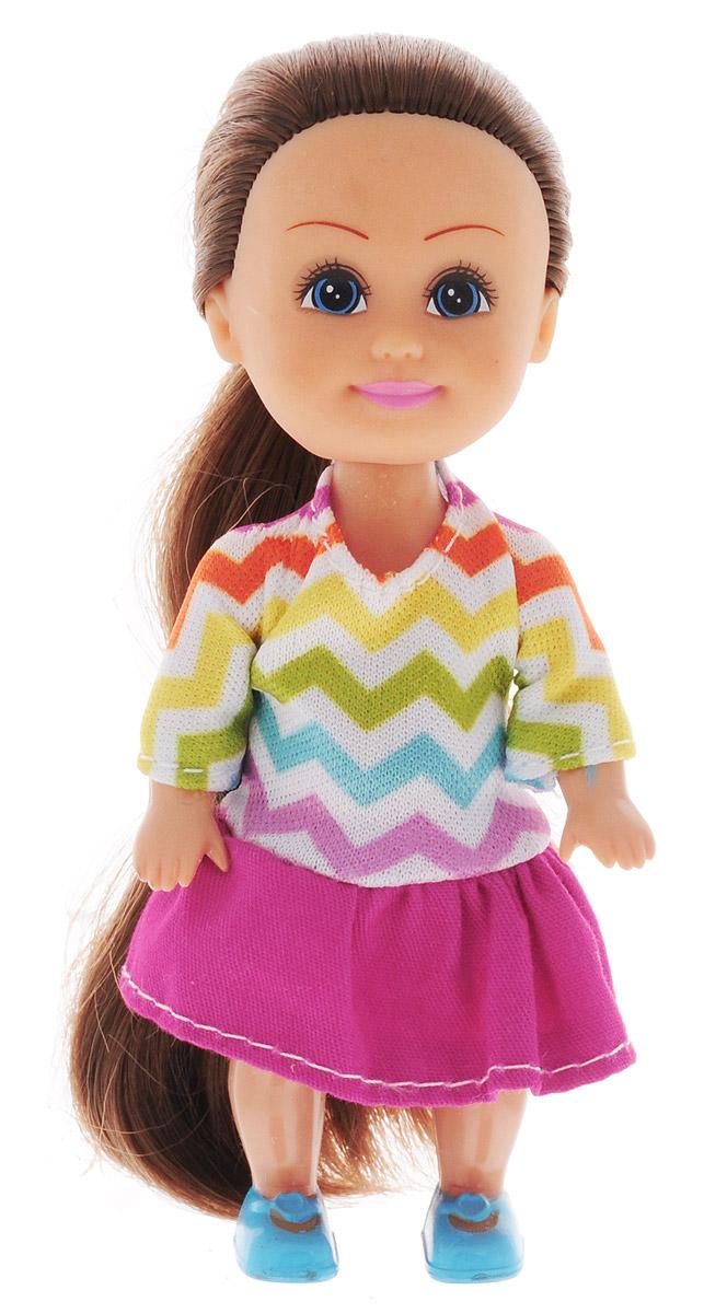 Funville Мини-кукла Sparkle Girlz цвет наряда салатовый голубой розовый funville кукла flutter wings fairy цвет платья голубой
