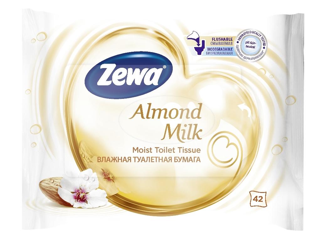 Бумага туалетная Zewa Almond Milk, влажная, 42 листа6785Влажная туалетная бумага Zewa Миндальное молочко Белая влажная туалетная бумага с ароматом миндального молочка 42 ультрамягких влажных листка в упаковке Смываемая, биоразлагаемая, одобрена дерматологами, PH-нейтральная для кожи Влажная туалетная бумага Zewa подарит вам непревзойденное ощущение чистоты и свежести. Она обеспечивает мягкое очищение, прекрасно растворяется в воде и разлагается в природных условиях. Производство: Великобритания