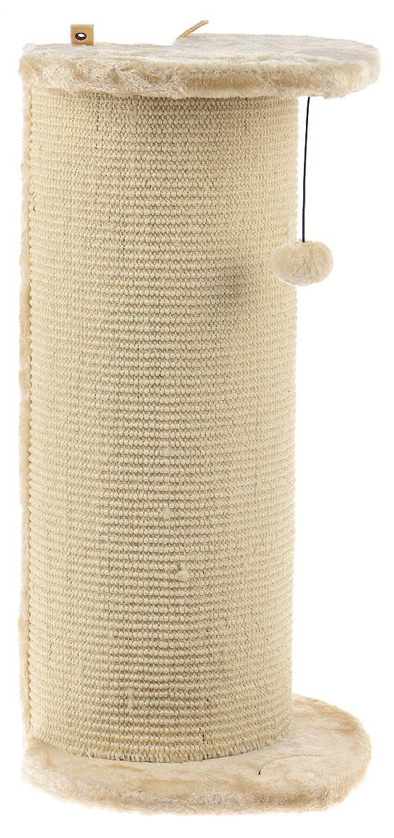 Когтеточка угловая Pet Fun Рыбка, 33,5 х 31,5 х 65 смYS77360Угловая когтеточка Pet Fun Рыбка поможет сохранить мебель и ковры в доме от когтей вашего любимца, стремящегося удовлетворить свою естественную потребность точить когти. Когтеточка изготовлена из МДФ, искусственного меха и сизаля. Товар продуман в мельчайших деталях и, несомненно, понравится вашей кошке. Сверху имеется игрушка, которая привлечет питомца. Всем кошкам необходимо стачивать когти. Когтеточка - один из самых необходимых аксессуаров для кошки. Для приучения к когтеточке можно натереть ее сухой валерьянкой или кошачьей мятой. Когтеточка поможет вашему любимцу стачивать когти и при этом не портить вашу мебель.
