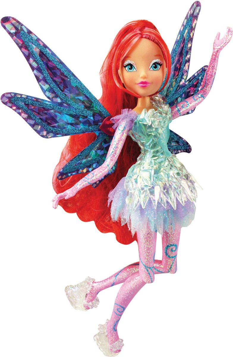 Winx Club Кукла Тайникс BloomIW01311500_BloomКукла Winx Club Тайникс Bloom по-настоящему обрадует юных любительниц популярного мультсериала. Удивительный наряд и чудесная обувь, подвижные руки и ноги, шикарные волосы, съемные крылышки куклы - все это понравится всем поклонницам фей. Блум родилась зимой под знаком Зодиака Дракон. Ее любимый цвет - красный. Уверенная в себе Блум обожает читать книги о магии в поисках информации для совершенствования мастерства. Фея обожает смотреть романтические комедии и общаться со своей любимой подругой Стеллой. Получив силу Сиреникса, Блум обрела необыкновенное могущество в подводном мире! Вместе с куклой Блум в комплект входят съёмные крылышки, которые светятся и порхают с помощью простого механического рычажка совсем как у любимой героини, пластиковый элемент для платья, стильная расчёска.
