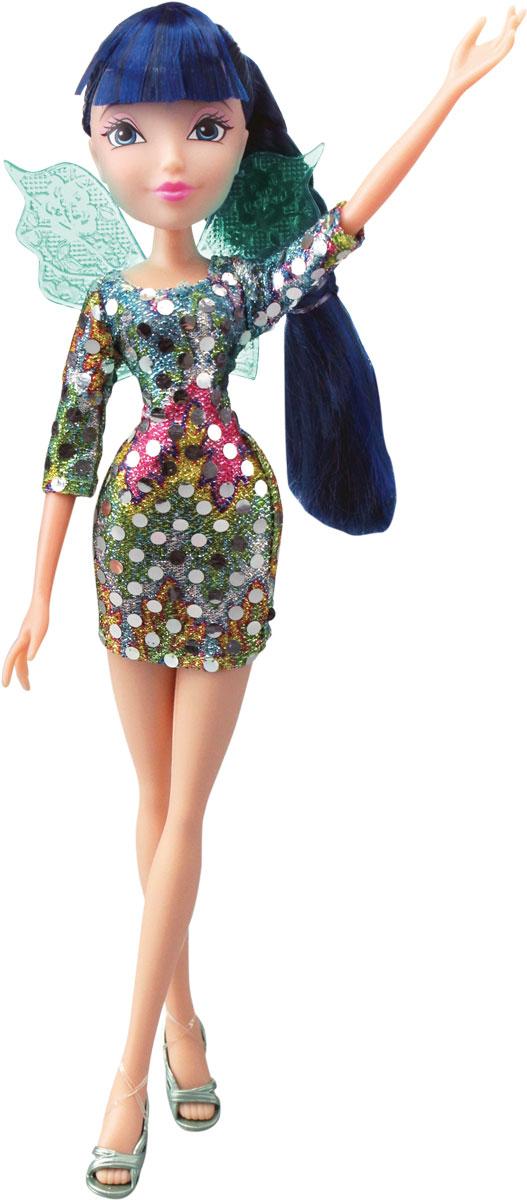 Winx Club Кукла Диско MusaIW01261500_MusaВсе девочки мечтают играть с куклами Winx, ведь они выполнены в виде знаменитых девушек-фей из мультсериала Winx Club. Феи-подружки Блум, Стелла, Текна, Муза, Лэйла и Флора выручают друг друга в беде и спасают мир от темных сил. Юные феи Winx - удивительные могущественные волшебницы, которым под силу любое превращение! А еще они, как и все девчонки, самые настоящие модницы! Волшебницы Винкс обожают крутиться перед зеркалом и менять наряды! Кукла Winx Club Диско Musa порадует вашу малышку и доставит ей много удовольствия от часов, посвященных игре с ней. Куколка с длинными синими волосами одета в модное блестящее платье,а на ногах - открытые босоножки. Образ дополняют зеленые крылышки у нее за спиной. Ручки, ножки и голова Музы подвижны. Ваша малышка с удовольствием будет играть с этой куколкой, проигрывая сюжеты из мультсериала или придумывая различные истории. Муза родилась весной под знаком Зодиака Эльф. Ее любимый цвет - позитивный желтый....