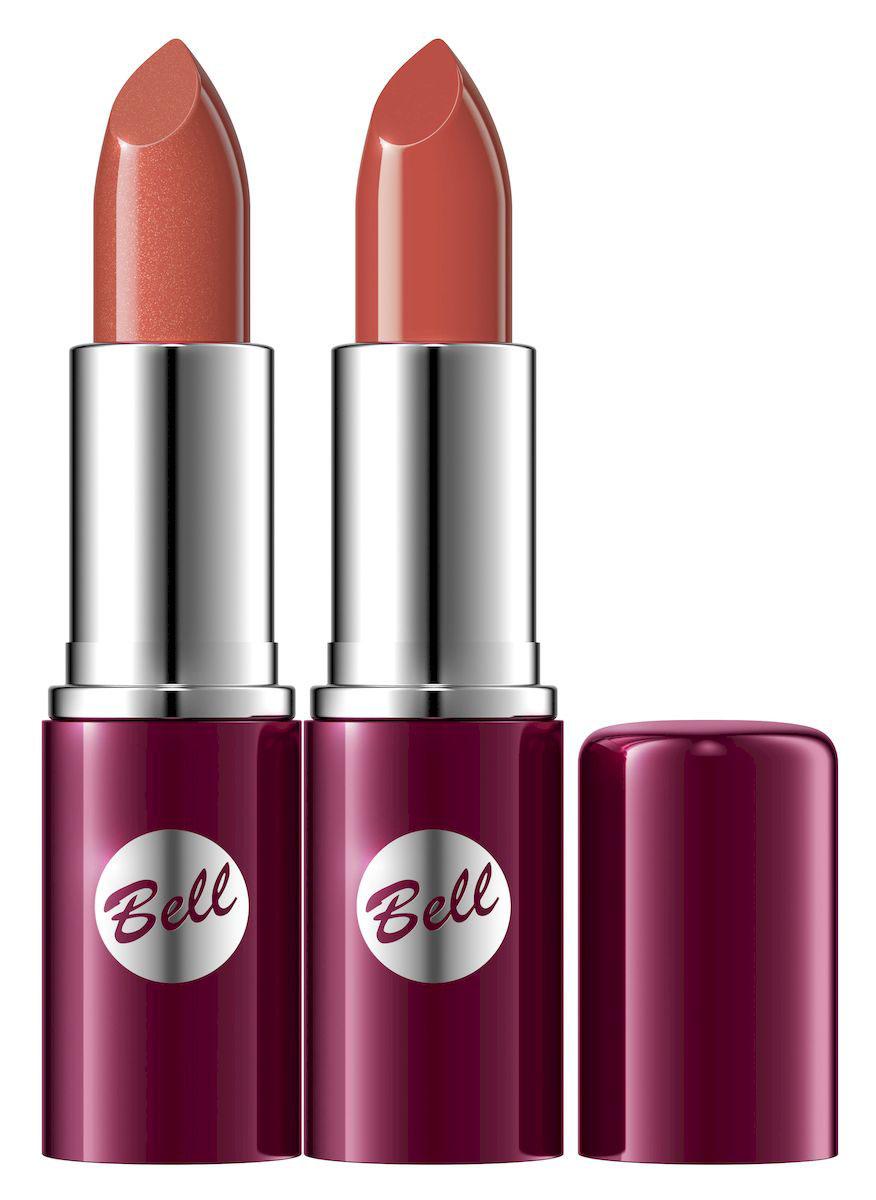 Bell Набор помад для губ Lipstick Classic: тон №16, тон №138, 9,6 млBsp33Чтобы выглядеть элегантно, попробуйте помаду, которая придаст идеальную форму вашим губам, окрашивая их в чистый, атласный и блестящий цвет.