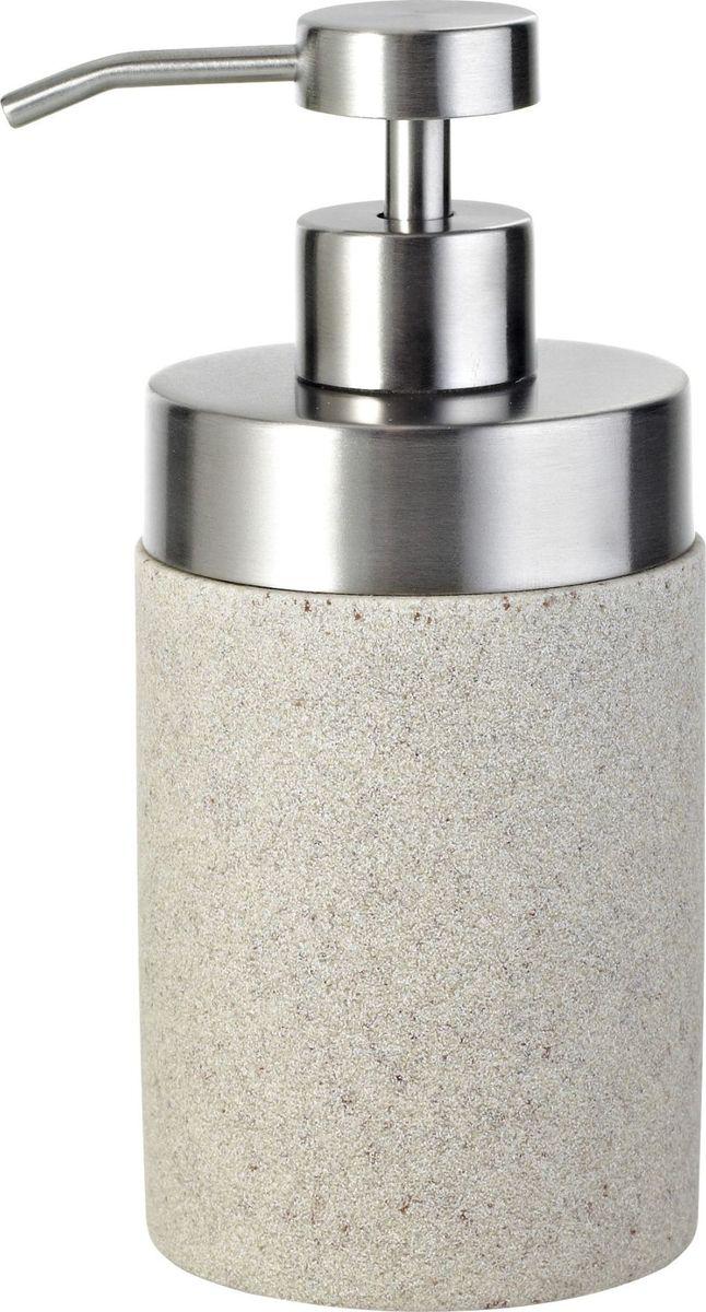 Дозатор для жидкого мыла Ridder Stone, цвет: бежевый22010511Дозатор для жидкого мыла Ridder Stone, изготовленный из экологичного полирезина, отлично подойдет для вашей ванной комнаты. Такой аксессуар очень удобен в использовании, достаточно лишь перелить жидкое мыло в дозатор, а когда необходимо использование мыла, легким нажатием выдавить нужное количество. Изделие устойчиво к ультрафиолету. Дозатор для жидкого мыла Ridder Stone создаст особую атмосферу уюта и максимального комфорта в ванной.