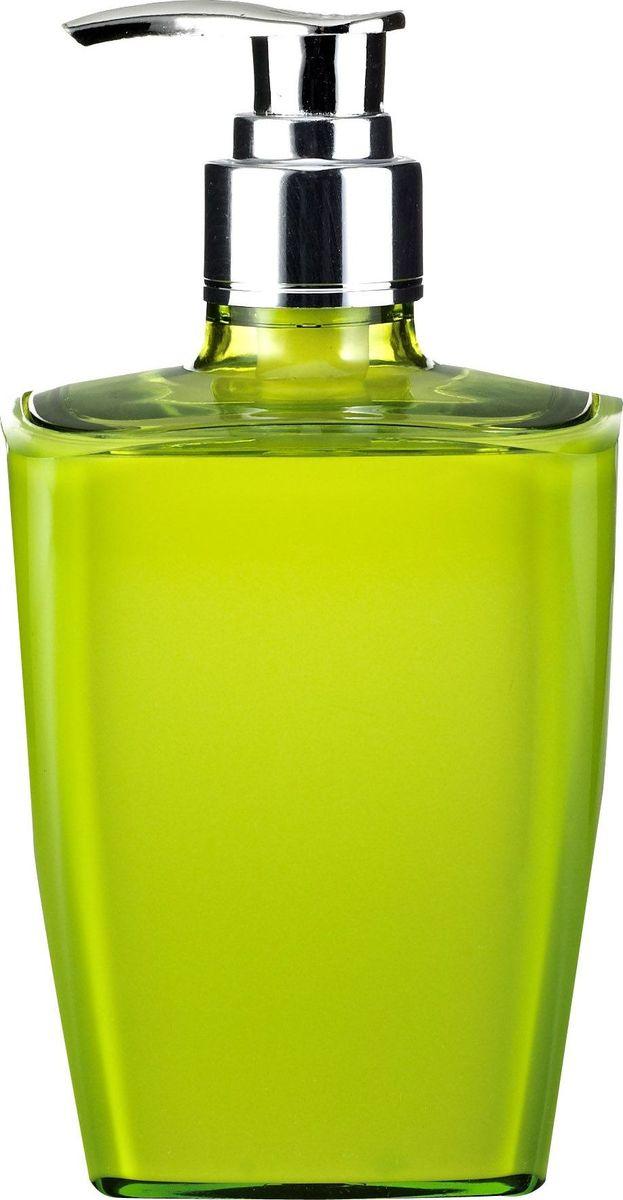 Дозатор для жидкого мыла Ridder Neon, цвет: зеленый22020505Данная серия изготавливается из акрилового стекла. Материал устойчив к ультрафиолету и мытью в посудомоечной машине.