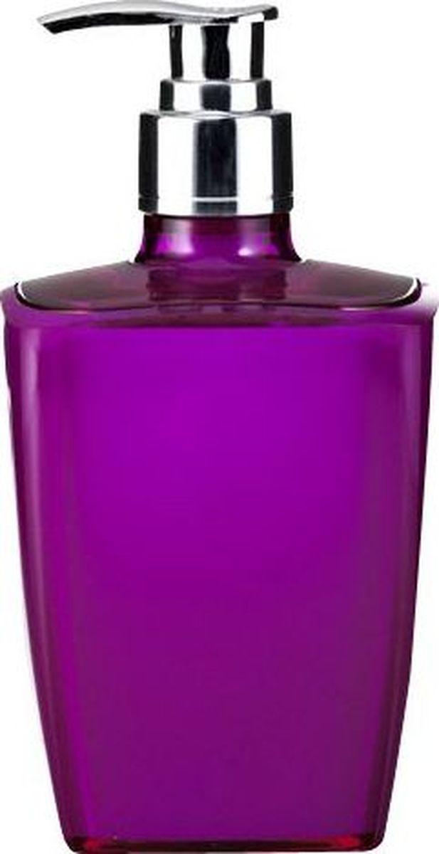 Дозатор для жидкого мыла Ridder Neon, цвет: фиолетовый22020513Данная серия изготавливается из акрилового стекла. Материал устойчив к ультрафиолету и мытью в посудомоечной машине.