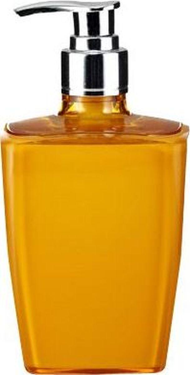 Дозатор для жидкого мыла Ridder Neon, цвет: оранжевый22020514Данная серия изготавливается из акрилового стекла. Материал устойчив к ультрафиолету и мытью в посудомоечной машине.