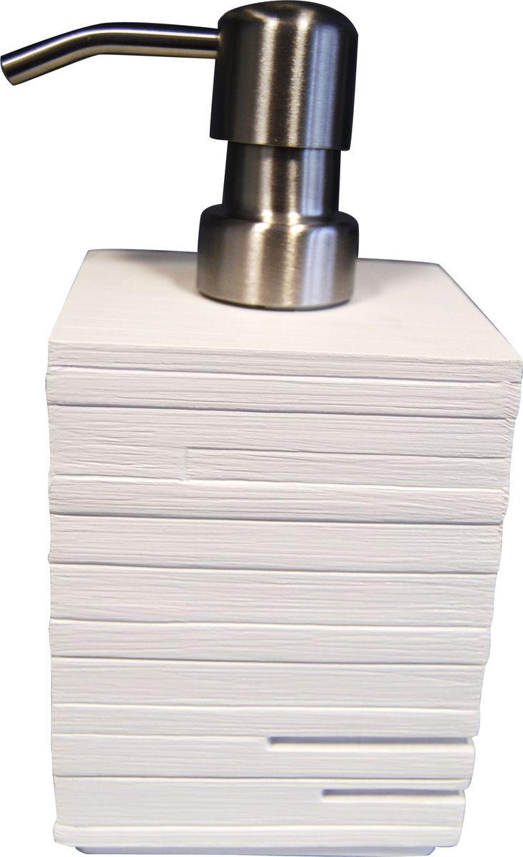 Дозатор для жидкого мыла Ridder Brick, цвет: белый, 430 мл22150501Дозатор для жидкого мыла Ridder Brick, изготовленный из экологичной полирезины и стекла, отлично подойдет для вашей ванной комнаты. Такой аксессуар очень удобен в использовании, достаточно лишь перелить жидкое мыло в дозатор, а когда необходимо использование мыла, легким нажатием выдавить нужное количество. Дозатор для жидкого мыла Ridder Brick создаст особую атмосферу уюта и максимального комфорта в ванной. Объем дозатора: 430 мл.
