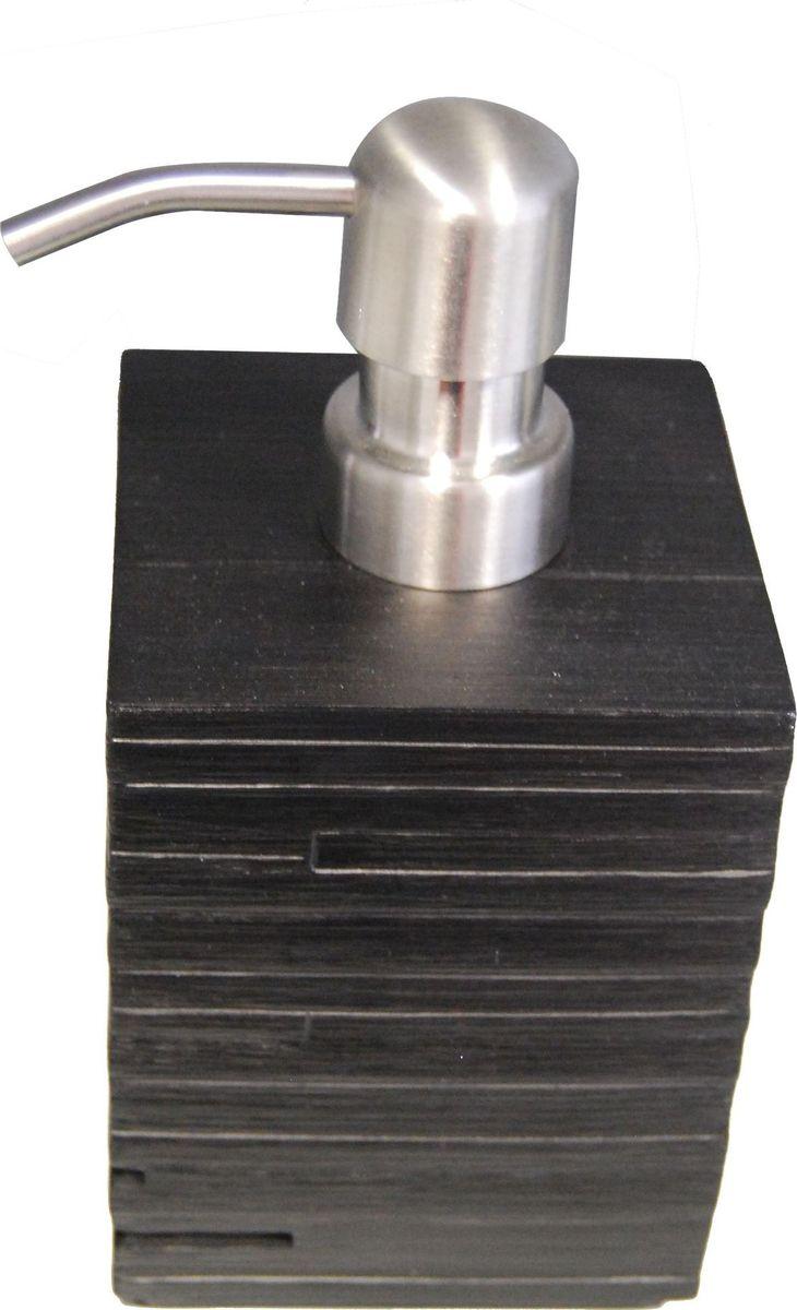 Дозатор для жидкого мыла Ridder Brick, цвет: черный, 430 мл22150510Дозатор для жидкого мыла Ridder Brick, изготовленный из экологичной полирезины и стекла, отлично подойдет для вашей ванной комнаты. Такой аксессуар очень удобен в использовании, достаточно лишь перелить жидкое мыло в дозатор, а когда необходимо использование мыла, легким нажатием выдавить нужное количество. Дозатор для жидкого мыла Ridder Brick создаст особую атмосферу уюта и максимального комфорта в ванной. Объем дозатора: 430 мл.