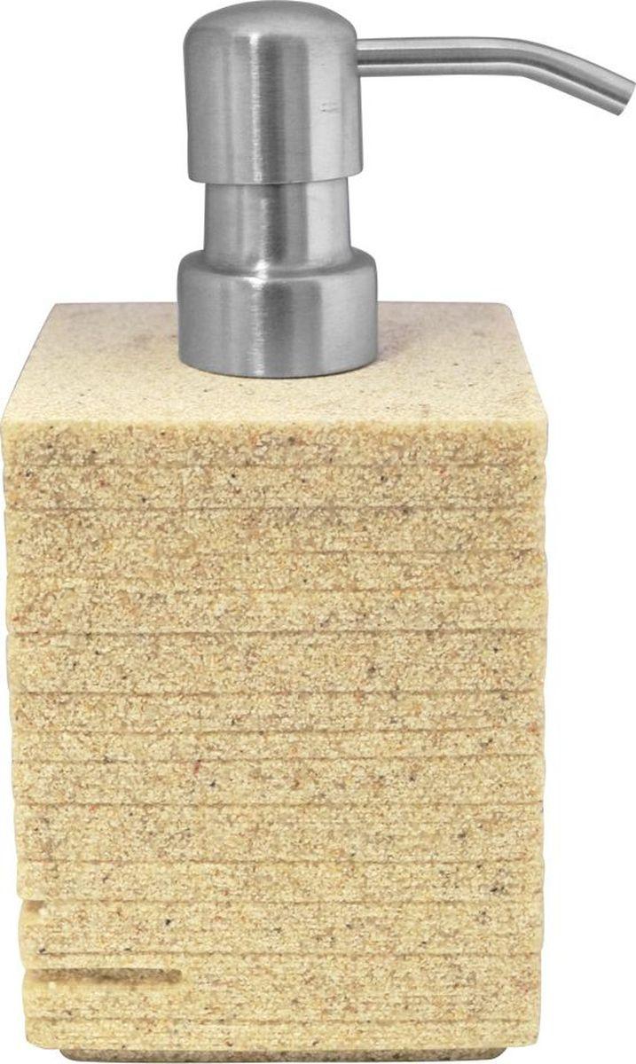Дозатор для жидкого мыла Ridder Brick, цвет: бежевый, 430 мл22150511Дозатор для жидкого мыла Ridder Brick, изготовленный из экологичной полирезины и стекла, отлично подойдет для вашей ванной комнаты. Такой аксессуар очень удобен в использовании, достаточно лишь перелить жидкое мыло в дозатор, а когда необходимо использование мыла, легким нажатием выдавить нужное количество. Дозатор для жидкого мыла Ridder Brick создаст особую атмосферу уюта и максимального комфорта в ванной. Объем дозатора: 430 мл.