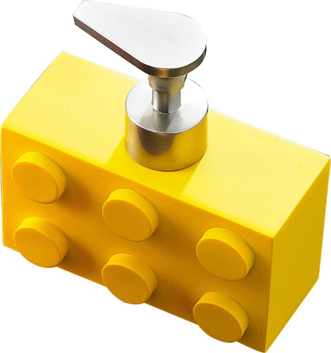 Дозатор для жидкого мыла Ridder Bob, цвет: желтый, 280 мл22210504Дозатор для жидкого мыла Ridder Bob, изготовленный из экологичной полирезины, отлично подойдет для вашей ванной комнаты. Такой аксессуар очень удобен в использовании, достаточно лишь перелить жидкое мыло в дозатор, а когда необходимо использование мыла, легким нажатием выдавить нужное количество. Дозатор для жидкого мыла Ridder Bob создаст особую атмосферу уюта и максимального комфорта в ванной. Объем дозатора: 280 мл.