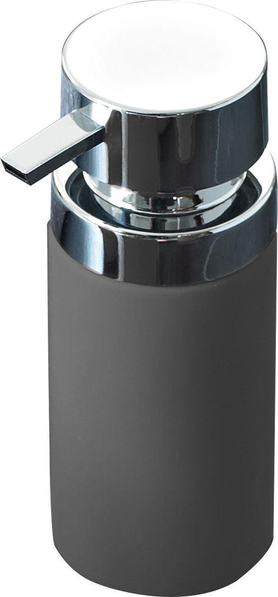 Дозатор для жидкого мыла Ridder Elegance, цвет: серый22220507Дозатор для жидкого мыла Ridder, изготовленный из керамики и стали, отлично подойдет для вашей ванной комнаты. Такой аксессуар очень удобен в использовании, достаточно лишь перелить жидкое мыло в дозатор, а когда необходимо использование мыла, легким нажатием выдавить нужное количество. Объем дозатора: 210 мл.