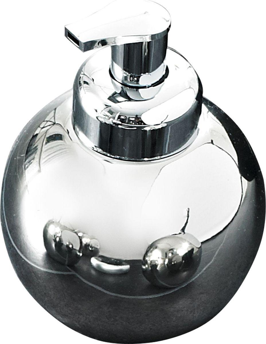 Дозатор для жидкого мыла Ridder Bowl, цвет: хром22240500Дозатор для жидкого мыла Bowl изготовлен из высококачественной керамики. Серия Bowl отдельно покрывается слоем хрома. Изделие устойчиво к ультрафиолету. Объем: 420 мл.