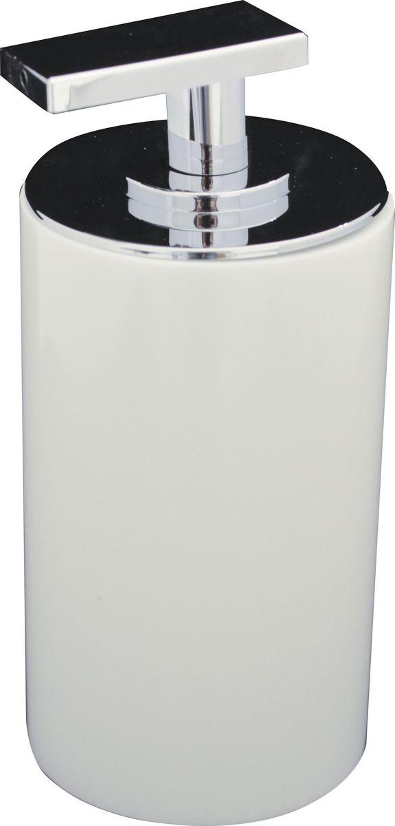 Дозатор для жидкого мыла Ridder Paris, цвет: белый, 200 мл22250501Дозатор для жидкого мыла Ridder Paris, изготовленный из экологичной полирезины, отлично подойдет для вашей ванной комнаты. Такой аксессуар очень удобен в использовании, достаточно лишь перелить жидкое мыло в дозатор, а когда необходимо использование мыла, легким нажатием выдавить нужное количество. Дозатор для жидкого мыла Ridder Paris создаст особую атмосферу уюта и максимального комфорта в ванной. Объем дозатора: 200 мл.