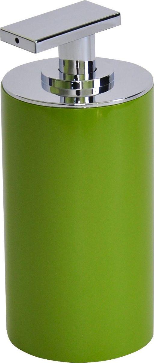 Дозатор для жидкого мыла Ridder Paris, цвет: зеленый, 200 мл22250505Дозатор для жидкого мыла Ridder Paris, изготовленный из экологичной полирезины, отлично подойдет для вашей ванной комнаты. Такой аксессуар очень удобен в использовании, достаточно лишь перелить жидкое мыло в дозатор, а когда необходимо использование мыла, легким нажатием выдавить нужное количество. Дозатор для жидкого мыла Ridder Paris создаст особую атмосферу уюта и максимального комфорта в ванной. Объем дозатора: 200 мл.