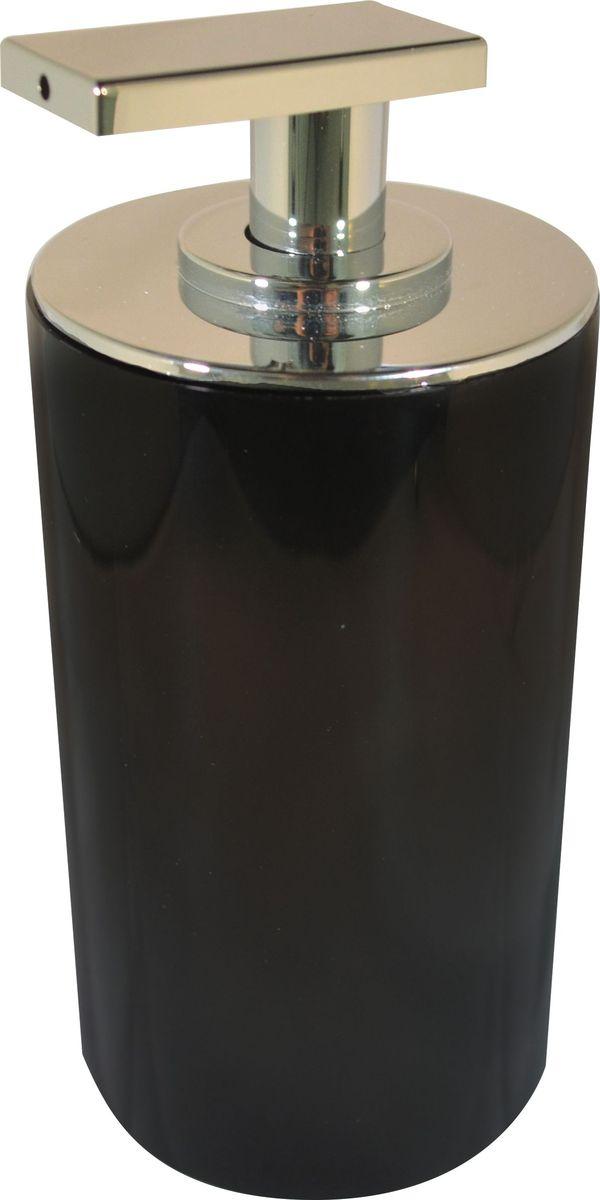 Дозатор для жидкого мыла Ridder Paris, цвет: черный, 200 мл22250510Дозатор для жидкого мыла Ridder Paris, изготовленный из экологичной полирезины, отлично подойдет для вашей ванной комнаты. Такой аксессуар очень удобен в использовании, достаточно лишь перелить жидкое мыло в дозатор, а когда необходимо использование мыла, легким нажатием выдавить нужное количество. Дозатор для жидкого мыла Ridder Paris создаст особую атмосферу уюта и максимального комфорта в ванной. Объем дозатора: 200 мл.