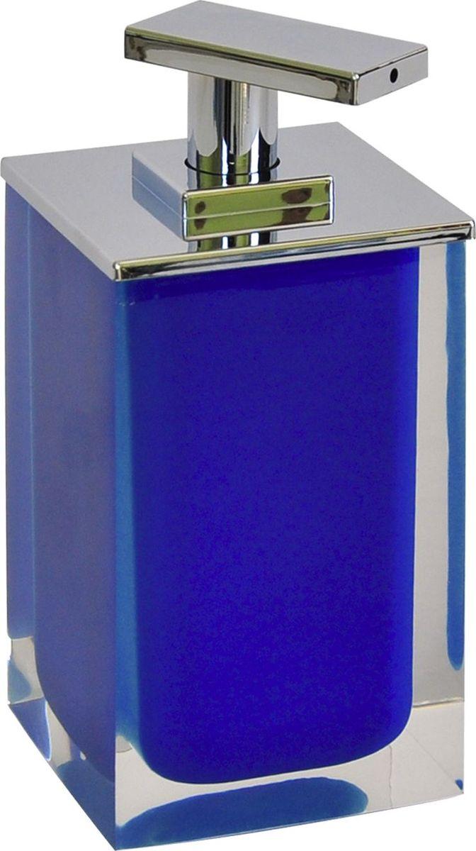 Дозатор для жидкого мыла Ridder Colours, цвет: синий, 300 мл22280503Дозатор для жидкого мыла Ridder Colours, изготовленный из экологичной полирезины, отлично подойдет для вашей ванной комнаты. Такой аксессуар очень удобен в использовании, достаточно лишь перелить жидкое мыло в дозатор, а когда необходимо использование мыла, легким нажатием выдавить нужное количество. Дозатор для жидкого мыла Ridder Colours создаст особую атмосферу уюта и максимального комфорта в ванной. Объем дозатора: 300 мл.
