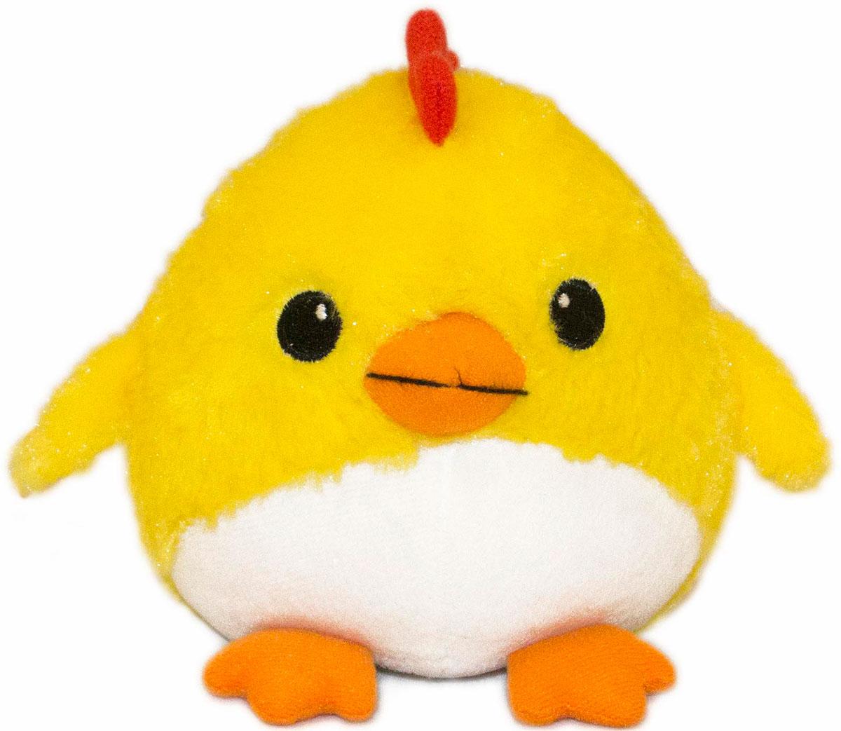 Gulliver Мягкая игрушка Цыпленок Солнышко 12 см 66-OT159347-166-OT159347-1Очаровательная мягкая игрушка Gulliver Цыпленок Солнышко выполнена в виде желтого цыпленка небольшого размера. Игрушка изготовлена из высококачественного материала и полностью безопасна для ребенка. Удивительно мягкая игрушка принесет радость и подарит своему обладателю мгновения нежных объятий и приятных воспоминаний. В процессе игры у крохи будет развиваться зрительная память, фантазия, логическое и образное мышление, ребенок научится сосредотачиваться на одном предмете, быть усидчивым и внимательным. Цыпленок (петух, курица) является символом 2017 года! Порадуйте себя и своих близких таким прекрасным символом, приносящим радость и счастье в каждый дом!