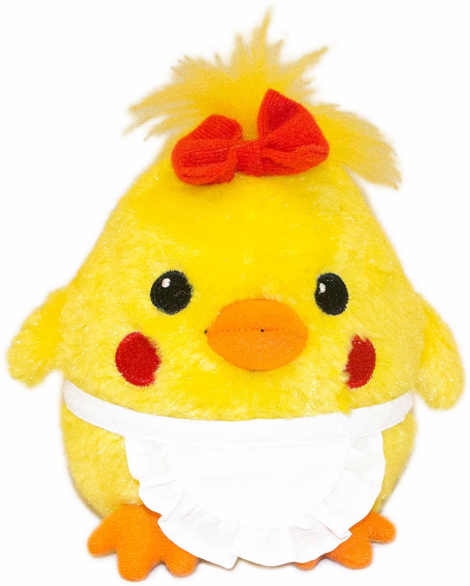 Gulliver Мягкая игрушка Цыпленок Солнышко в фартучке 12 см66-OT159347-2Очаровательная мягкая игрушка Gulliver Цыпленок Солнышко выполнена в виде желтого цыпленка небольшого размера в белом фартучке. Игрушка изготовлена из высококачественного материала и полностью безопасна для ребенка. Удивительно мягкая игрушка принесет радость и подарит своему обладателю мгновения нежных объятий и приятных воспоминаний. В процессе игры у крохи будет развиваться зрительная память, фантазия, логическое и образное мышление, ребенок научится сосредотачиваться на одном предмете, быть усидчивым и внимательным. Цыпленок (петух, курица) является символом 2017 года! Порадуйте себя и своих близких таким прекрасным символом, приносящим радость и счастье в каждый дом!