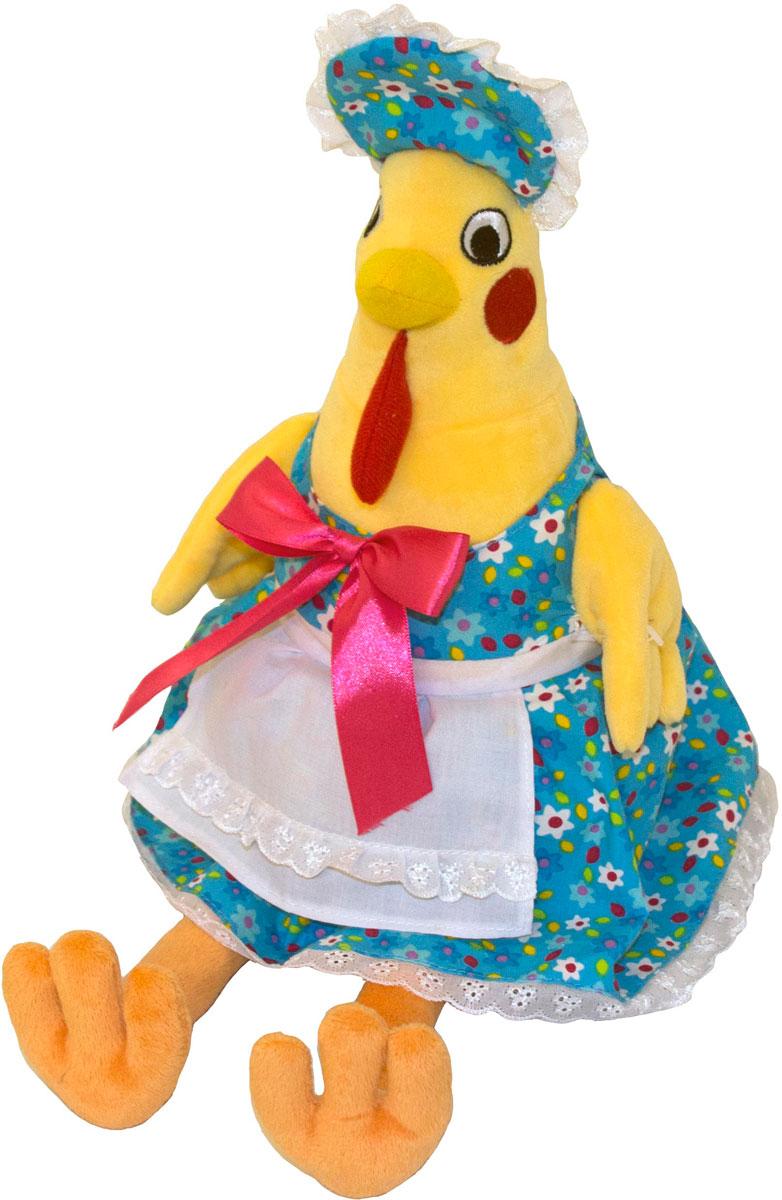 Gulliver Мягкая игрушка Курочка Марфа 25 см66-OT159351-2Мягкая игрушка Gulliver Курочка Марфа порадует любого малыша, ведь это игрушка, которую можно взять с собой в любое путешествие. На голове игрушки расположена красивая панамка, а сама она облечена в голубое платье с красным бантиком. В процессе игры у крохи развиваются такие качества как сопереживание, привязанность, любовь к животным, а Курочка Марфа создаст в вашем доме уют и теплую обстановку. Мягкие игрушки Gulliver действуют позитивно на растущий детский организм, обучая ласке и доброте, улучшают настроение ребенка, развивают тактильную чувствительность, стимулируют зрительное восприятие, хватательные рефлексы и моторику рук. Как материал, так и набивка, с использованием которых изготовлены мягкие игрушки, высокого качества и безопасны для детей. Продукция сертифицирована, экологически безопасна для ребенка, использованные красители не токсичны и гипоаллергенны.