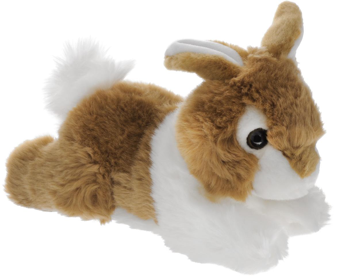 Aurora Мягкая игрушка Кролик коричневый 28 см300-01Мягкая игрушка Aurora - очаровательный пушистый кролик, станет замечательным подарком, как для мальчиков, так и девочек разных возрастов. Бело-коричневая шерстка кролика мягкая и приятная на ощупь. Он лежит на животе, вытянув лапки, и выглядит просто очаровательно! Кролик сможет стать настоящим другом для вашего ребенка. Игрушка изготовлена из качественных и безопасных материалов. Специальные гранулы, используемые при ее набивке, способствуют развитию мелкой моторики рук малыша.