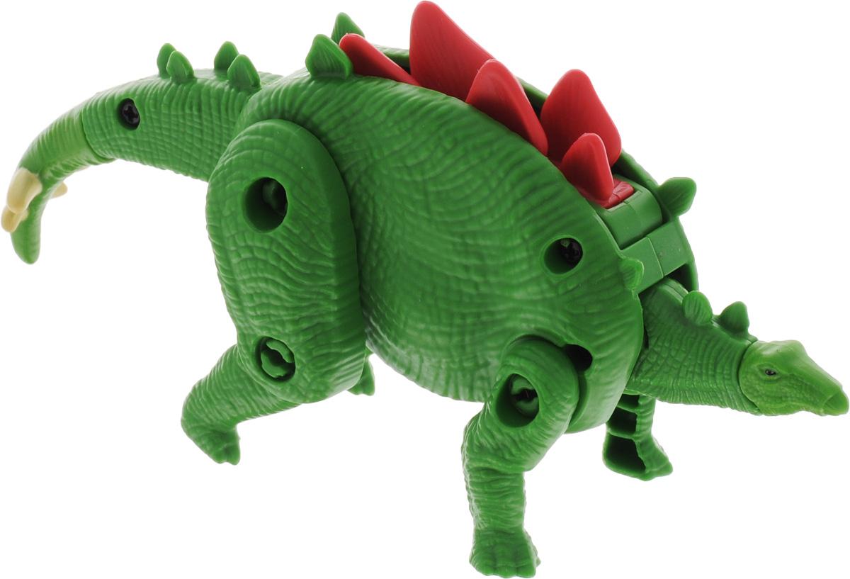EggStars Яйцо-трансформер Стегозавр84554Фигурка Стегозавра детально повторяет настоящего динозавра и имеет подвижные части тела, благодаря чему может компактно складываться в округлую форму, напоминающую яйцо. Стегозавр - один из самых крупных травоядных динозавров Юрского периода группы стегозавров, в честь которого и была названа группа. Строение тела и слаборазвитые челюсти позволяли ему жевать только нежную низкорослую растительность. Туловище защищено крупными костяными пластинами вдоль позвоночника, а на конце хвоста расположены два острых шипа. Яйцо-трансформер EggStars Стегозавр легко преображается в динозавра и обратно.