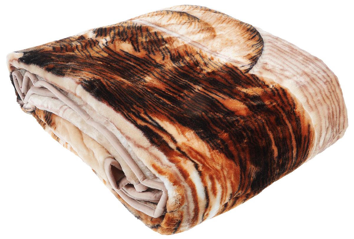 Плед Toledo, стриженый, цвет: коричневый, 200 х 240 см55337Плед  Toledo - это идеальное решение для вашего интерьера! Он порадует вас легкостью, нежностью и оригинальным дизайном! Плед выполнен из 100% полиэстера. Полиэстер считается одной из самых популярных тканей. Это материал синтетического происхождения из полиэфирных волокон. Внешне такая ткань схожа с шерстью, а по свойствам близка к хлопку. Изделия из полиэстера не мнутся и легко стираются. После стирки очень быстро высыхают. Плед - это такой подарок, который будет всегда актуален, особенно для ваших родных и близких, ведь вы дарите им частичку своего тепла! Плотность: 645 г/м2