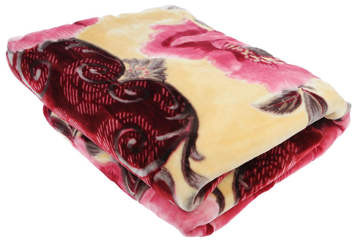Плед Tamerlan, стриженый, цвет: розовый, бежевый, 200 х 240 см68457Плед  Tamerlan - это идеальное решение для вашего интерьера! Он порадует вас легкостью, нежностью и оригинальным дизайном! Плед выполнен из 100% полиэстера. Полиэстер считается одной из самых популярных тканей. Это материал синтетического происхождения из полиэфирных волокон. Внешне такая ткань схожа с шерстью, а по свойствам близка к хлопку. Изделия из полиэстера не мнутся и легко стираются. После стирки очень быстро высыхают. Плед - это такой подарок, который будет всегда актуален, особенно для ваших родных и близких, ведь вы дарите им частичку своего тепла! Плотность: 625 г/м2