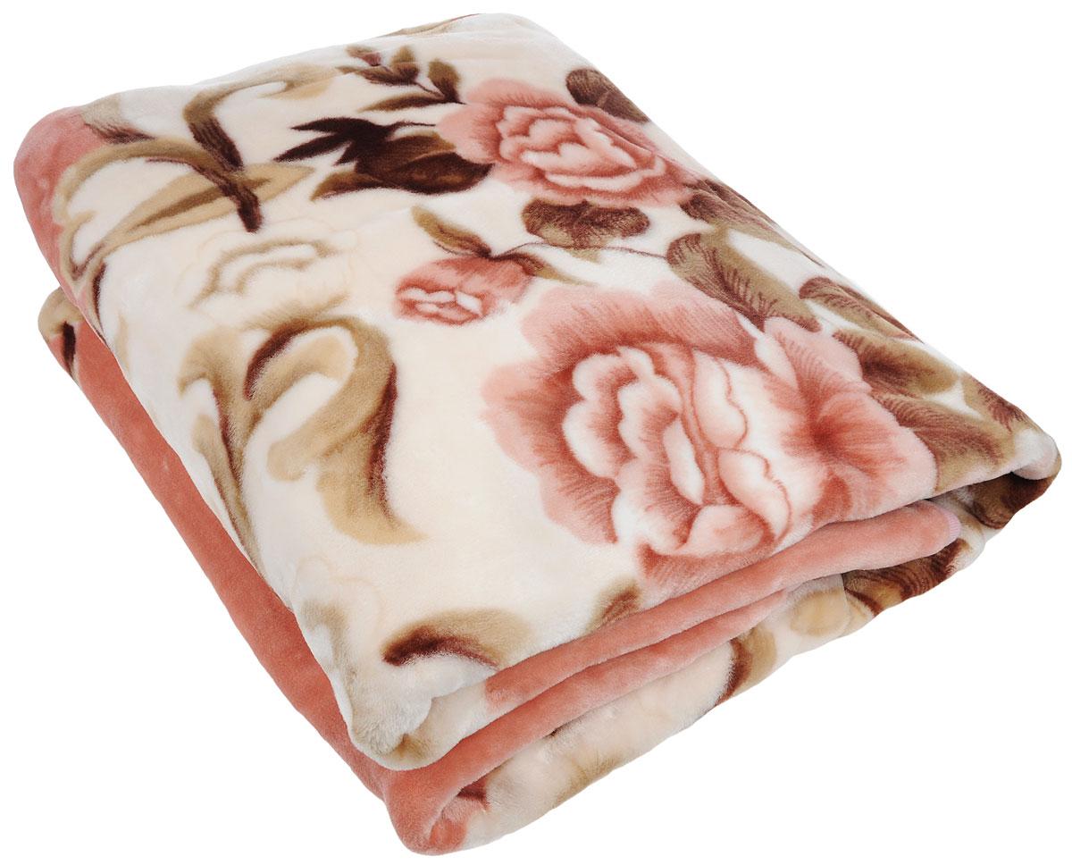Плед Tamerlan, нестриженый, цвет: розовый, коричневый, 200 х 240 см61349Плед  Tamerlan - это идеальное решение для вашего интерьера! Он порадует вас легкостью, нежностью и оригинальным дизайном! Плед выполнен из 100% полиэстера. Полиэстер считается одной из самых популярных тканей. Это материал синтетического происхождения из полиэфирных волокон. Внешне такая ткань схожа с шерстью, а по свойствам близка к хлопку. Изделия из полиэстера не мнутся и легко стираются. После стирки очень быстро высыхают. Плед - это такой подарок, который будет всегда актуален, особенно для ваших родных и близких, ведь вы дарите им частичку своего тепла! Плотность: 500 г/м2