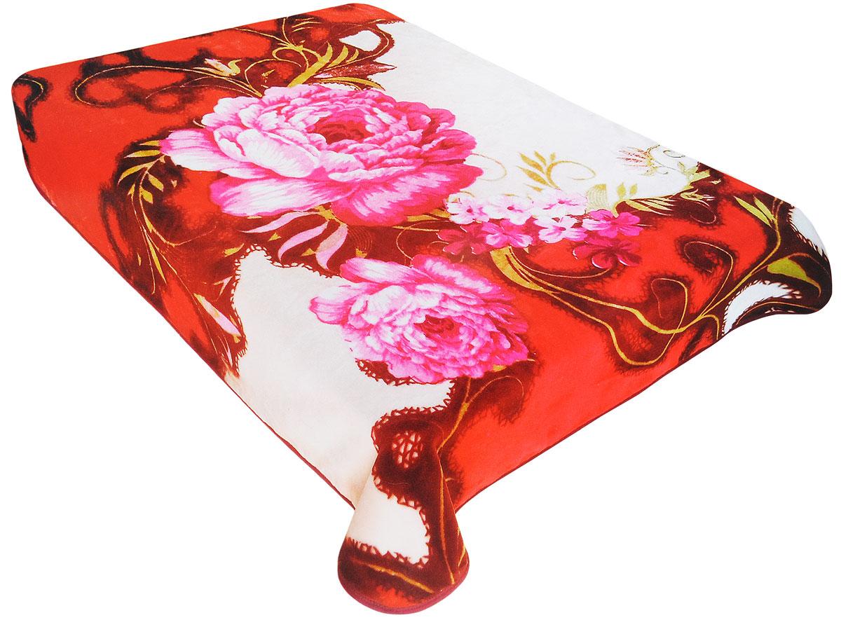 Плед Tamerlan, нестриженый, цвет: розовый, коричневый, 200 х 240 см70377Плед  Tamerlan - это идеальное решение для вашего интерьера! Он порадует вас легкостью, нежностью и оригинальным дизайном! Плед выполнен из 100% полиэстера. Полиэстер считается одной из самых популярных тканей. Это материал синтетического происхождения из полиэфирных волокон. Внешне такая ткань схожа с шерстью, а по свойствам близка к хлопку. Изделия из полиэстера не мнутся и легко стираются. После стирки очень быстро высыхают. Плед - это такой подарок, который будет всегда актуален, особенно для ваших родных и близких, ведь вы дарите им частичку своего тепла! Плотность: 500 г/м2