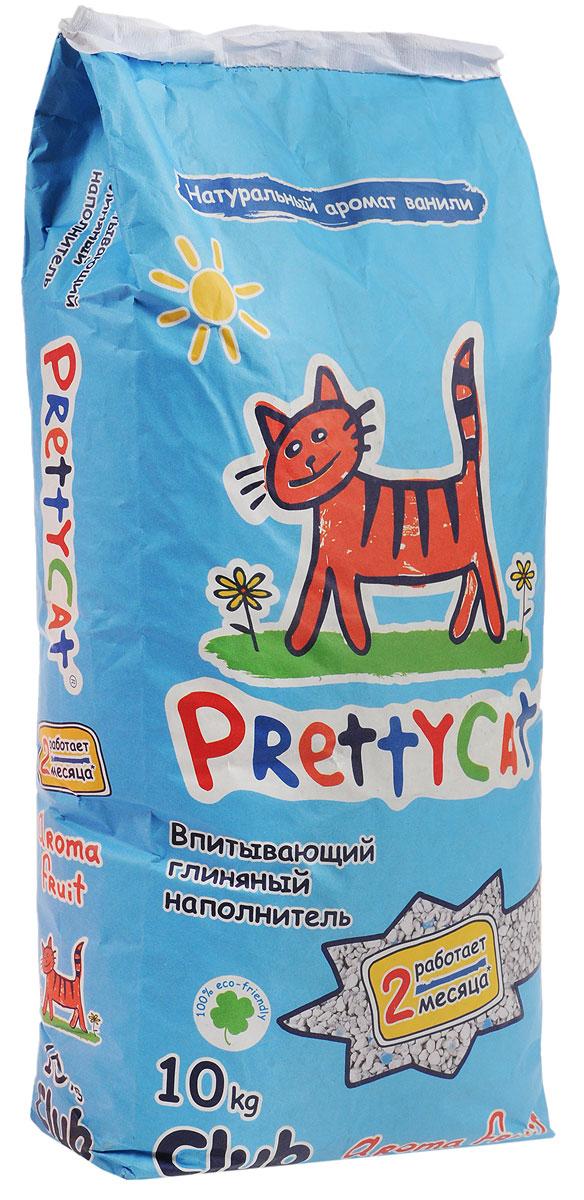 Наполнитель для кошачьих туалетов PrettyCat Aroma Fruit, с део-кристаллами, 10 кг. 620291620291_10 кгНаполнитель для кошачьих туалетов PrettyCat Aroma Fruit - это впитывающий глиняный наполнитель. Изготовлен из высококачественной цеолит глины, део-кристаллов, натуральных пищевых арома-масел. Это абсолютно экологически чистый продукт. Натуральные пищевые ароматизаторы с ароматом тропических фруктов и ванили безопасны для вашей кошки. От ее лапок всегда будет вкусно пахнуть ванилью. Глиняные гранулы прекрасно впитывают жидкость, предотвращают размножение бактерий и обеспечивают обеспыливание. Особые део-кристаллы устраняют запах, оставляя только фруктовый аромат. Благодаря новой формуле одной пачки хватает до 2-х месяцев. Впитывающий глиняный наполнитель нравится абсолютно всем кошкам и их хозяевам. Состав: цеолит глина, део-кристаллы, арома-масла.