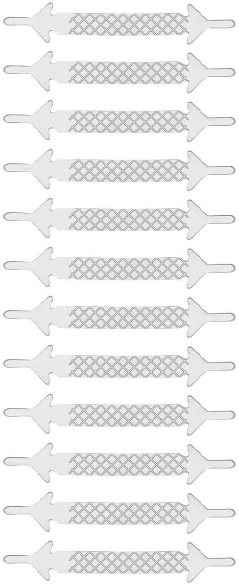 Шнурки силиконовые Hilace Group, цвет: прозрачный, 12 шт2371Оригинальные силиконовые шнурки Hilace Group не оставят вас равнодушными благодаря своему дизайну и практичности. Они изготовлены из качественного термостойкого силикона. Такие шнурки упростят надевание обуви и надежно зафиксируют ее без стягивания стопы, выдержат низкие и высокие температуры, подойдут как взрослым, так и детям.