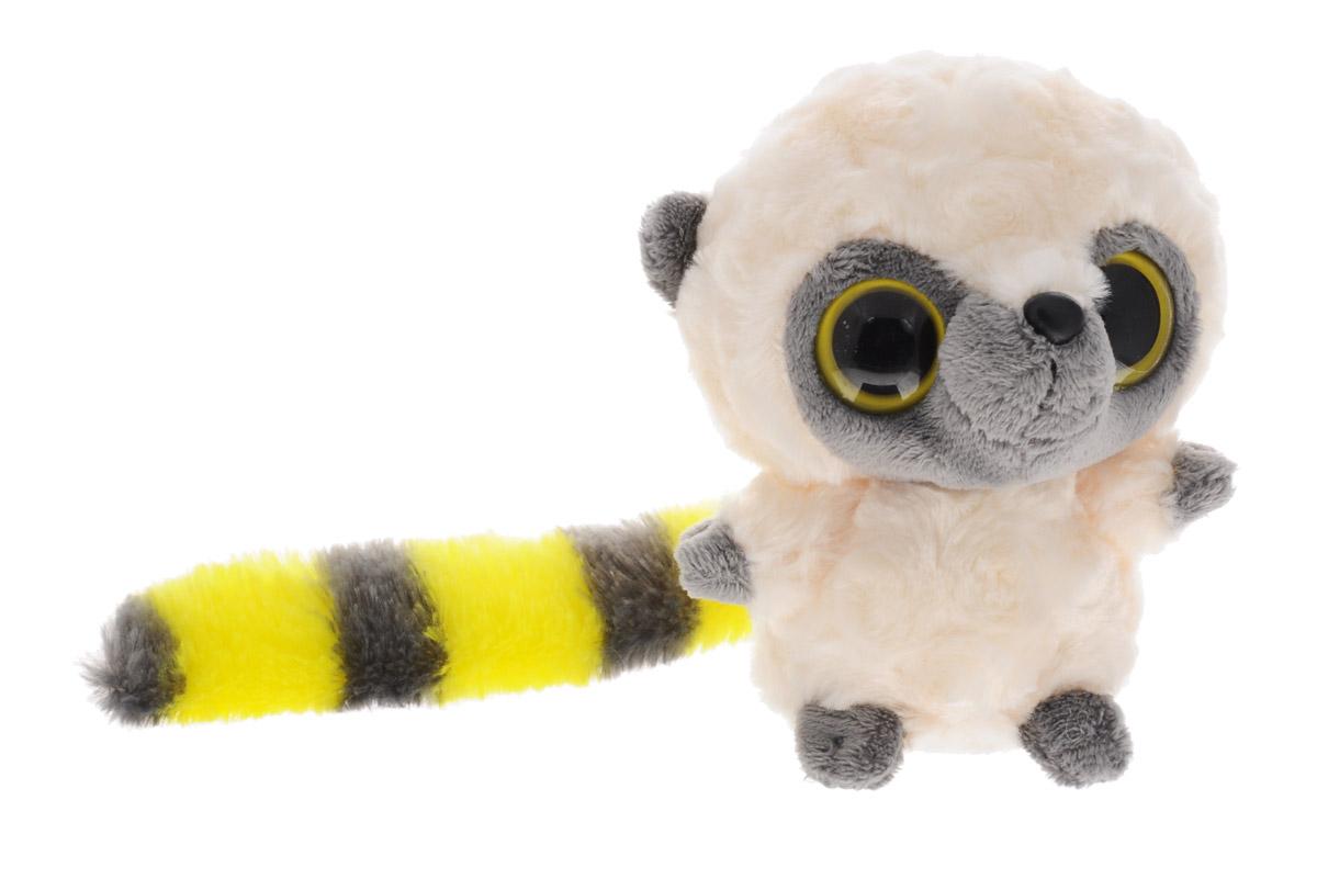 Aurora Мягкая игрушка Юху цвет кремовый желтый 12 см