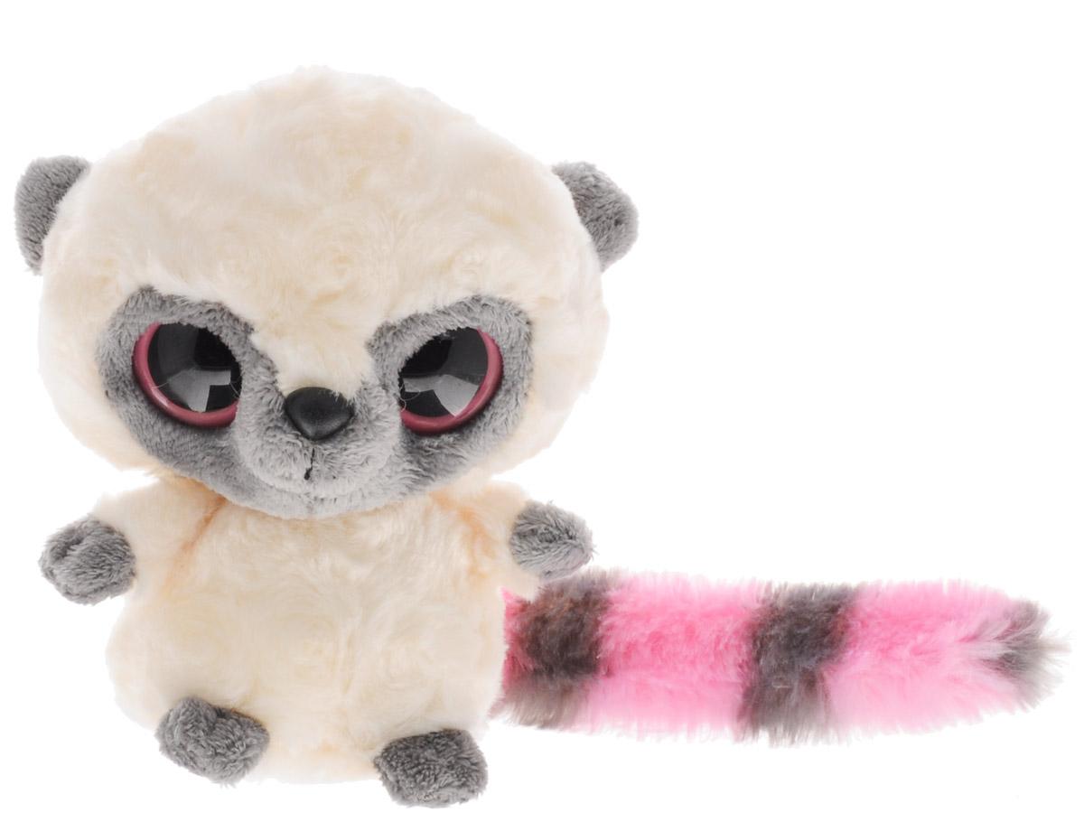 Aurora Мягкая игрушка Юху цвет молочный розовый 12 см12-110Мягкая игрушка Aurora Юху - очаровательный лемур, главный персонаж мультфильма Юху и его друзья. У него мягкая и приятная на ощупь шерстка, серо-розовый полосатый хвост и яркие, выразительные глазки. Глядя на симпатичную мордашку Юху, невозможно сдержать улыбки умиления! Игрушка станет отличным подарком не только для мальчиков и девочек разных возрастов, но и для взрослых! Для ребенка он может стать настоящим верным другом. Специальные гранулы, используемые при набивке мягкой игрушки, способствуют развитию мелкой моторики рук малыша.