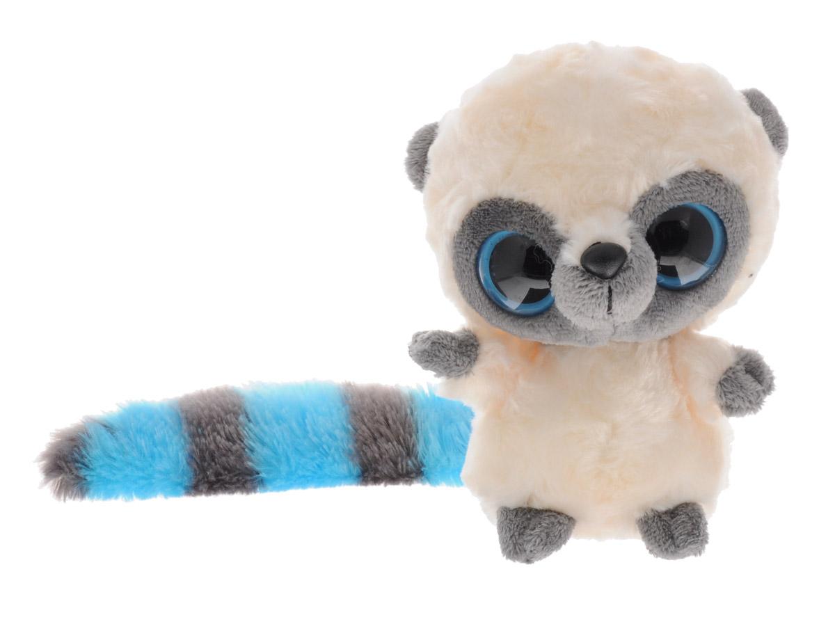 Aurora Мягкая игрушка Юху цвет молочный голубой 12 см12-109Мягкая игрушка Aurora Юху станет замечательным подарком не только для мальчиков и девочек, но и для взрослых. Игрушка вызовет умиление и улыбку у каждого, кто ее увидит. Она выполнена в виде симпатичного зверька молочного цвета с полосатым длинным хвостиком. У Юху большие пластиковые глазки и черный носик. Игрушка изготовлена из мягкого, приятного на ощупь материала. Специальные гранулы, используемые при ее набивке, способствуют развитию мелкой моторики рук малыша. Удивительно мягкая игрушка принесет радость и подарит своему обладателю мгновения нежных объятий и приятных воспоминаний. Великолепное качество исполнения делают эту игрушку чудесным подарком к любому празднику.