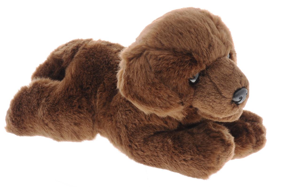 Aurora Мягкая игрушка Шоколадный лабрадор 28 см300-08Мягкая игрушка Aurora - очаровательный щенок породы лабрадор. Его коричневая шерстка мягкая и приятная на ощупь, не линяет и не скатывается со временем. У него выразительные глазки и милый черный носик, песик лежит на животе, вытянув лапки, и выглядит просто прелестно. Щенок станет отличным подарком не только для мальчиков и девочек разных возрастов, но и взрослых. Для ребенка он сможет стать настоящим, верным другом! Игрушка изготовлена из качественных и безопасных материалов. Специальные гранулы, используемые при ее набивке, способствуют развитию мелкой моторики рук малыша.