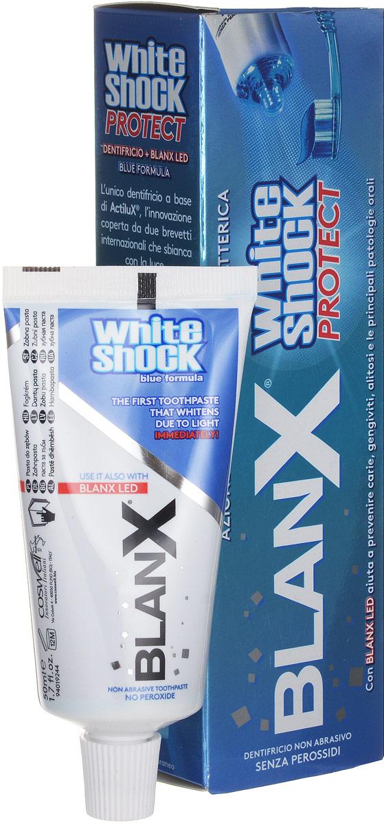 Blanx зубная паста WS blue formula v 15, 50ml + LEDGA1184700Зубная паста на основе ActiluX- инновационной формулы, защищенной двумя международными патентами. Blue Formulа оказывает немедленное отбеливающий эффект. Не содержит пероксидов.