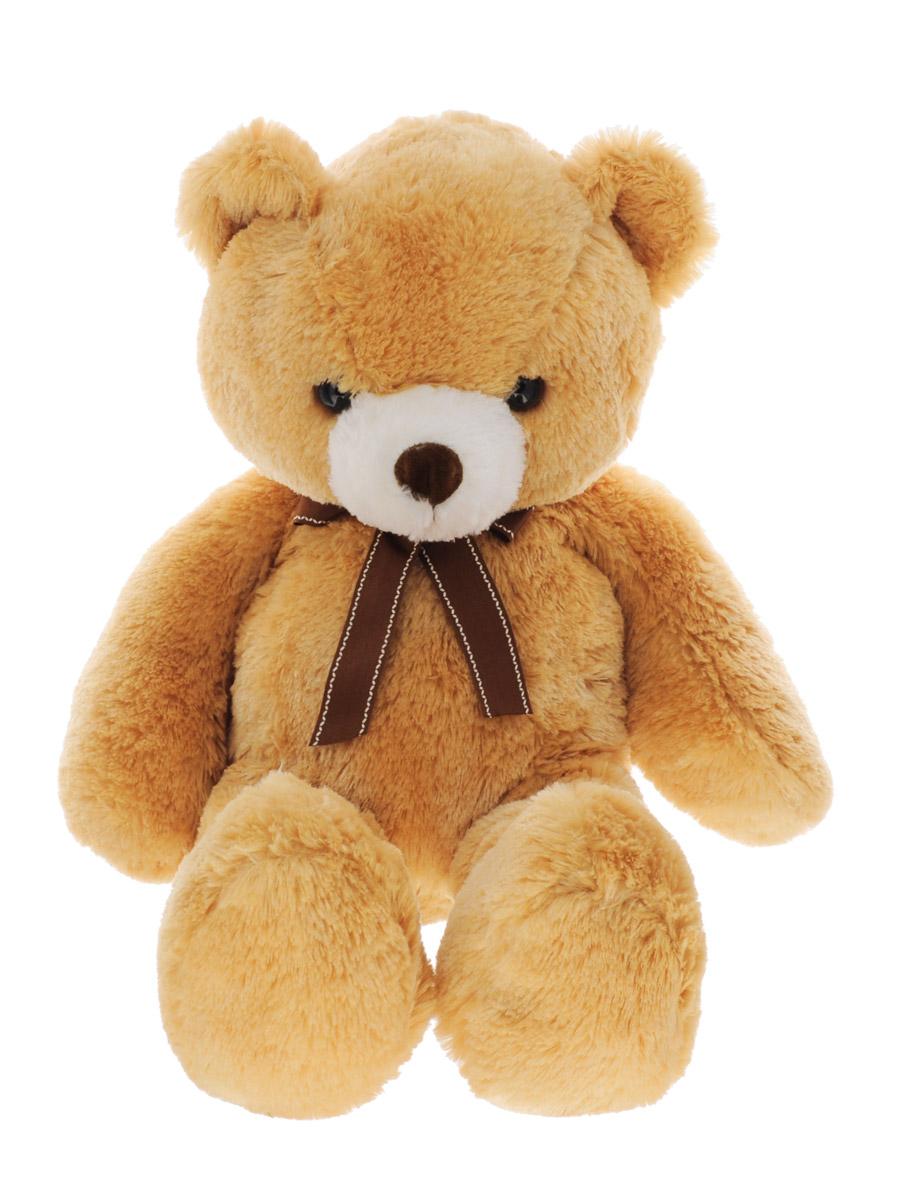 Aurora Мягкая игрушка Медведь коричневый 65 см15-324Очаровательная мягкая игрушка Aurora - универсальный подарок к любому празднику. Выполнена в виде медвежонка с бантом на шее. Игрушка изготовлена из высококачественного материала и полностью безопасна для ребенка. Удивительно мягкая игрушка принесет радость и подарит своему обладателю мгновения нежных объятий и приятных воспоминаний. Великолепное качество исполнения делают эту игрушку чудесным подарком к любому празднику.