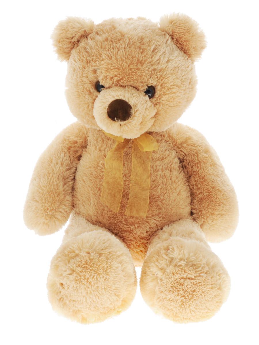 Aurora Мягкая игрушка Медведь 80 см15-323Мягкая игрушка Aurora - очаровательный коричневый медвежонок с бантом станет отличным подарком для ребенка любого возраста. Приятный на ощупь, он выполнен из высококачественных экологически чистых материалов. Удивительно мягкая игрушка принесет радость и подарит своему обладателю мгновения нежных объятий и приятных воспоминаний. Великолепное качество исполнения делают эту игрушку чудесным подарком к любому празднику. Трогательная и симпатичная, она непременно вызовет улыбку у детей и взрослых.