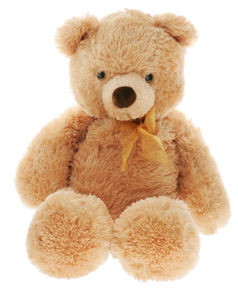 Aurora Мягкая игрушка Медведь 65 см15-322Мягкая игрушка Aurora - очаровательный коричневый медвежонок с бантом станет отличным подарком для ребенка любого возраста. Мягкий и приятный на ощупь, он выполнен из высококачественных экологически чистых материалов. Великолепное качество исполнения делают эту игрушку чудесным подарком к любому празднику. Трогательная и симпатичная, она непременно вызовет улыбку у детей и взрослых.