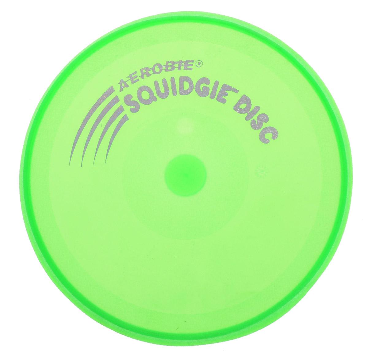 Aerobie Летающий диск Squidgie цвет зеленый