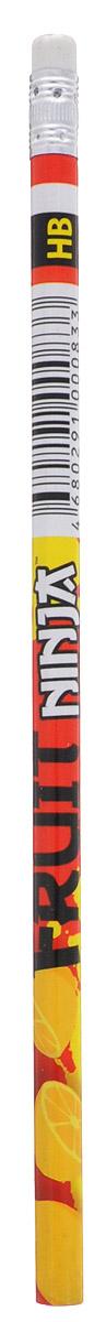 Action! Карандаш чернографитный Fruit Ninja цвет красный FN-ALP117_красный