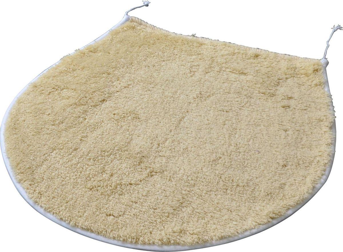 """Коврик для ванной Ridder """"Palma"""", цвет: бежевый, коричневый, 47 х 50 см"""