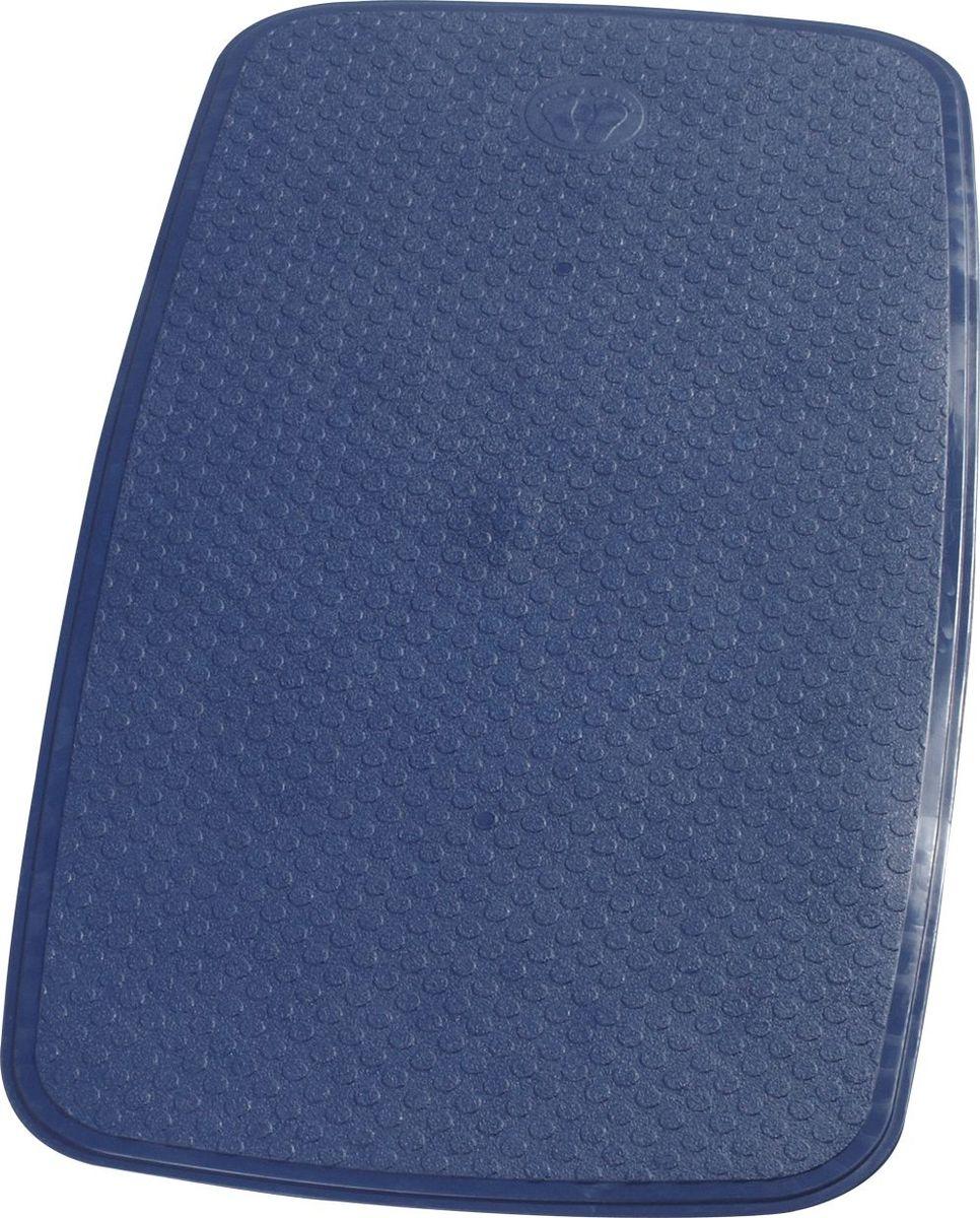 Коврик для ванной Ridder Capri, противоскользящий, на присосках, цвет: синий, 38 х 72 см коврик для ванной ridder park противоскользящий на присосках цвет бежевый 54 х 54 см