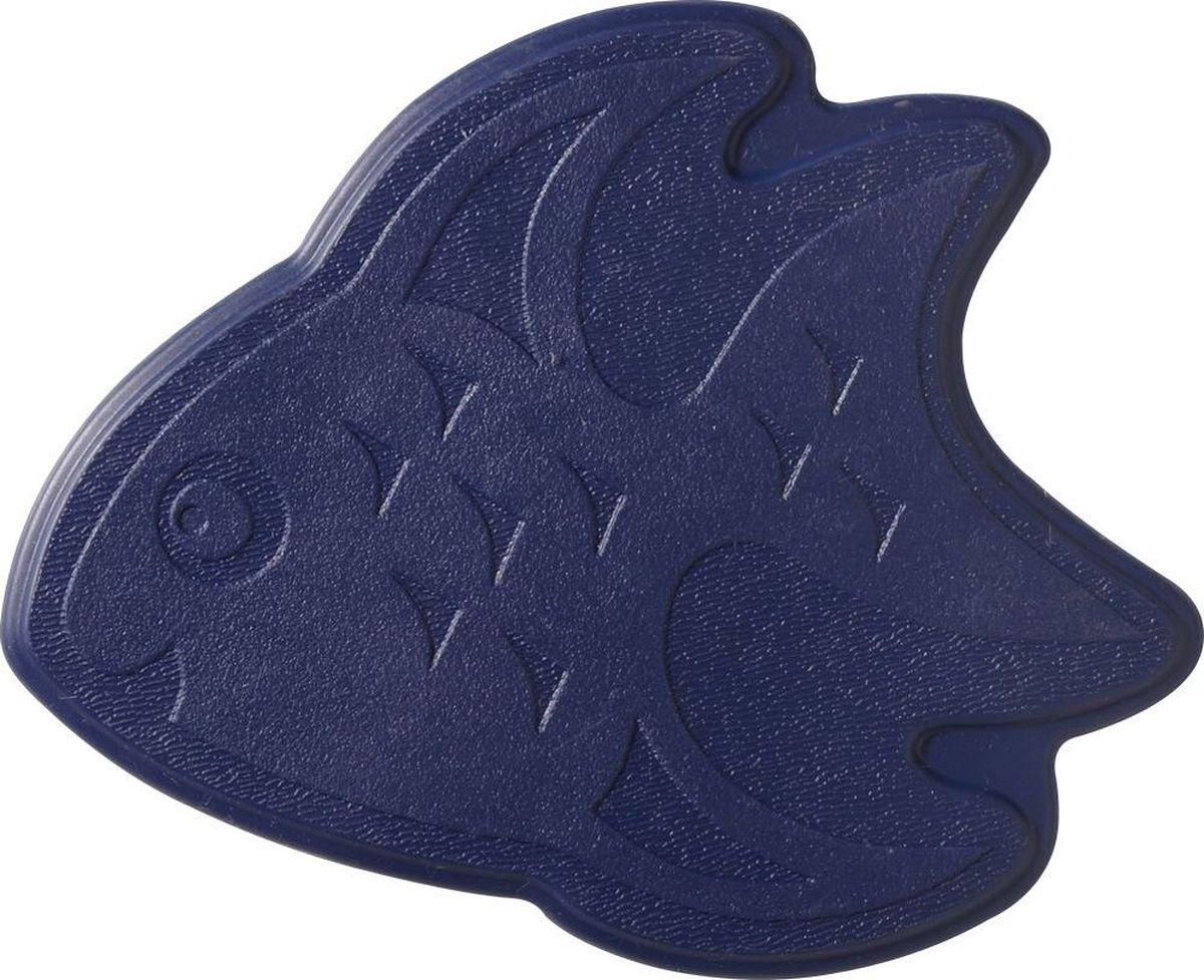 """Набор ковриков для ванной Ridder """"Slip-Not XXS"""", на присосках, цвет: синий, 6 шт"""