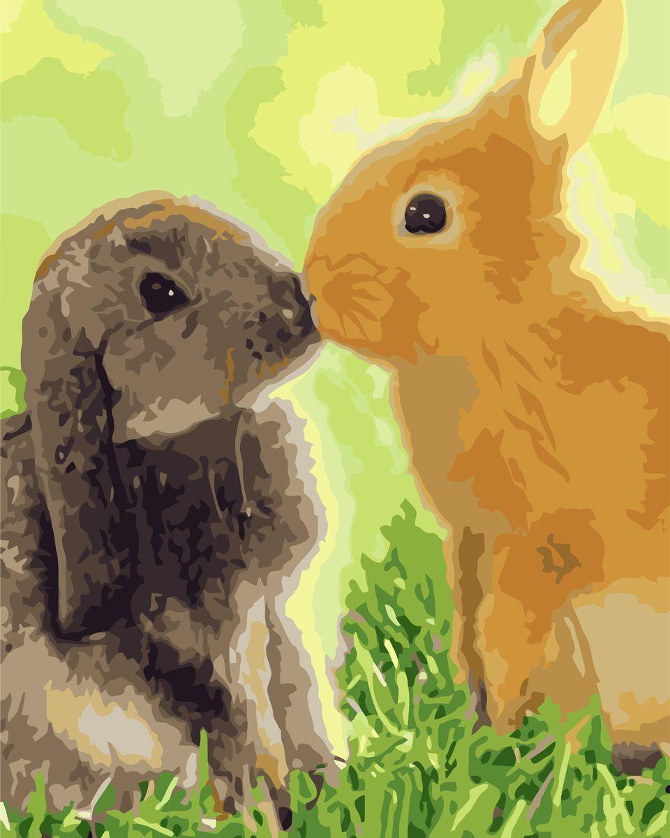 Креатто Набор для росписи по холсту Любовь-морковь