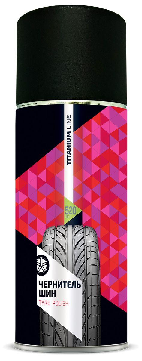 Автополироль для шин Sapfire Tyre Polish, 520 мл