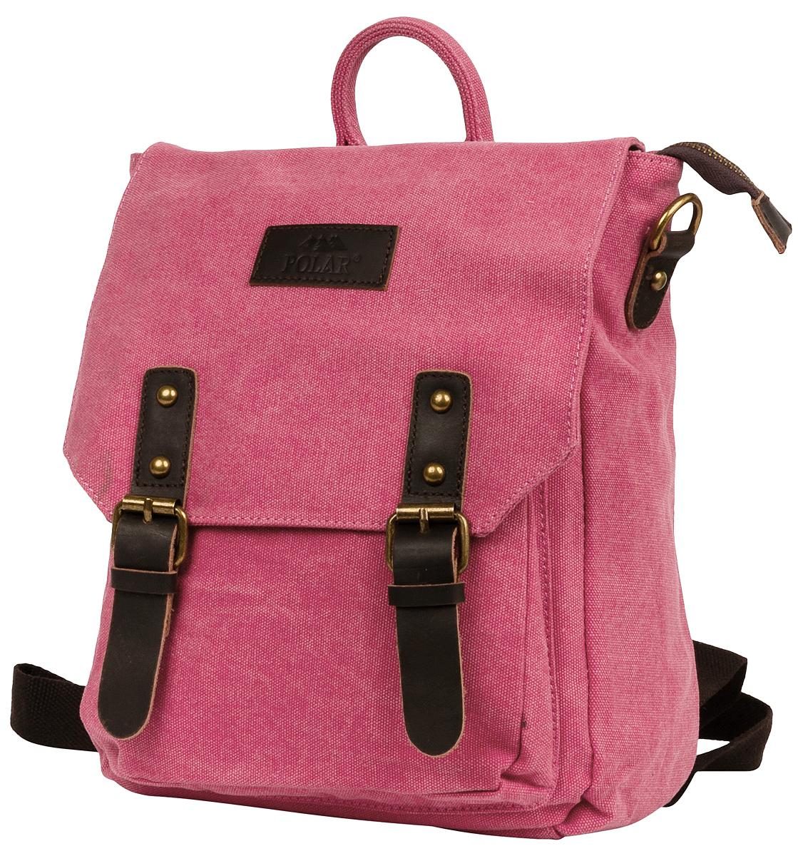 """Рюкзак городской женский Polar """"Adventure"""", цвет: розовый, 8,65 л. 1510-01 red"""